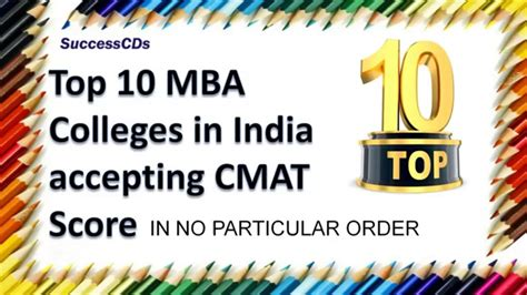 Top Mba Colleges In Karnataka Pgcet by Top 10 Cmat Colleges For Mba Best Mba Colleges