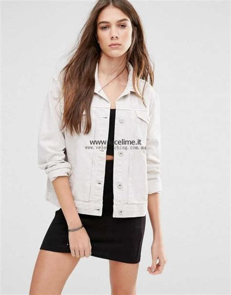 Jaket Pull Sale asos pull denim jacket abbigliamento donne on sale