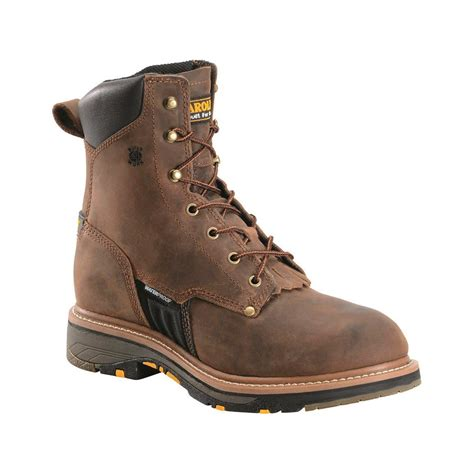 carolina s waterproof 8 quot workflex work boots 680271