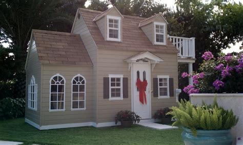 Who Plays In House by Childrens Custom Playhouses Diy Playhouse Plans Lilliput