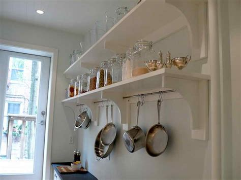 Kitchen Shelf Ideas by Kitchen Diy Kitchen Shelving Ideas Diy Floating Shelves