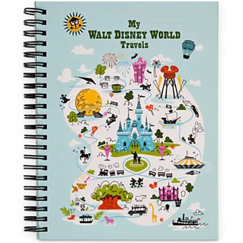 your wdw store disney travel journal walt disney world just for