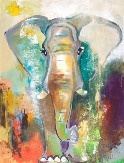 large artwork quot elephant quot contemporary large artwork contemporary