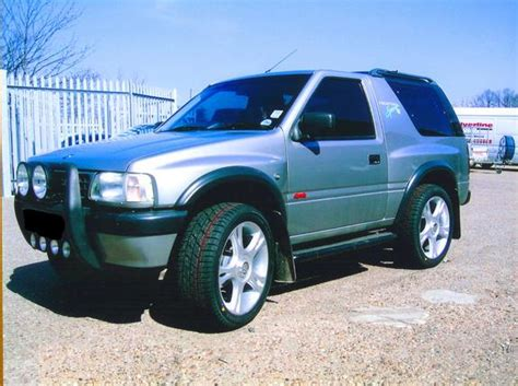 opel frontera modified magmagmag 1996 vauxhall frontera specs photos