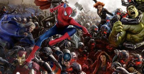 Promo 1 Set Marvel Avenger Heroes 8pcs Heroes Dlp9050 T big spider announcement shakes up future marvel
