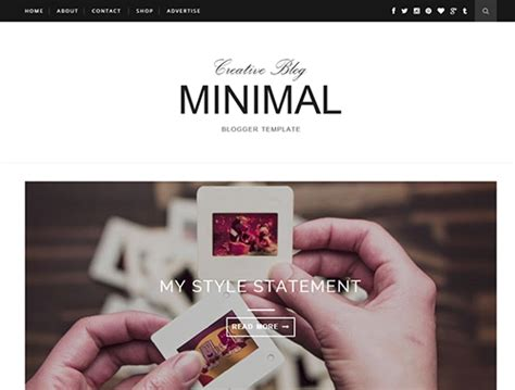 templates for blogger with slider minimal slider blogger template blogger templates gallery