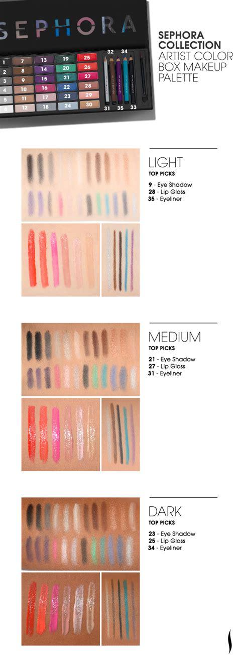 sephora color id sephora collection artist color box make beautytalk