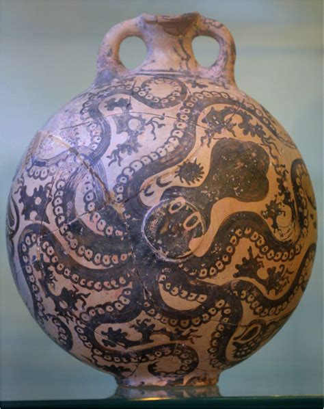 Octopus Vase Minoan by Art100 Midterm History Of And Architecture 100a With Broucke At Middlebury College Studyblue