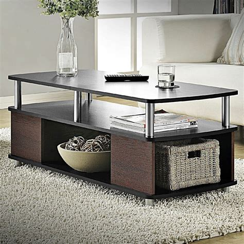 Storage Table For Living Room - contemporary coffee table living room furniture storage