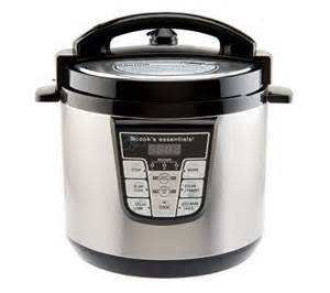 cooks essential cooker cooksessentials 6 qt nonstick stainless steel digital