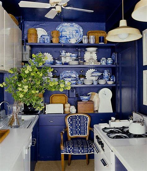 blue and white kitchen ideas inspiring blue kitchen d 233 cor ideas homesfeed
