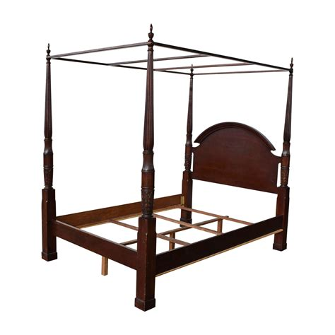 83 wood four poster canopy bed frame beds