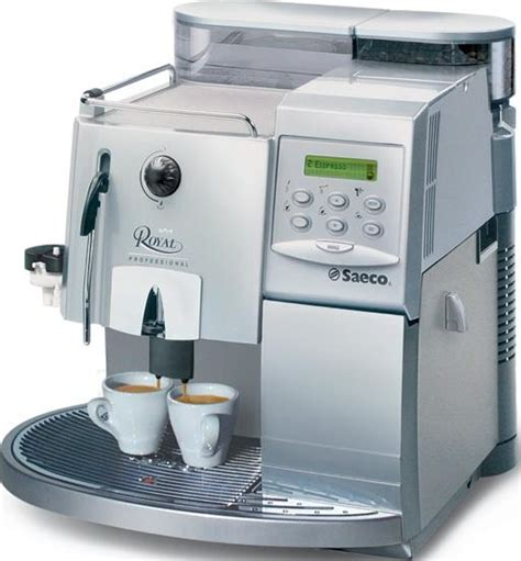 royal touch l repair saeco royal professional silver chrome coffee machine