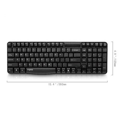 Rapoo Wireless Keyboard E1050 Buy From Radioshack In Rapoo E1050 Wireless