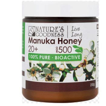Q1 Propolis nature s goodness manuka honey 20 mgo 500 cold processing 250g towers pharmacy