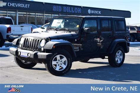 jeep convertible 2018 jeep wrangler jk unlimited sport convertible in