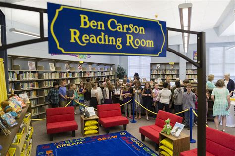 ben carson reading room ashdown school takes part in annual ben carson reading day texarkana breaking news