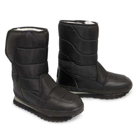 lightweight snow boots gumbies unisex mens womens fur warm lined snow