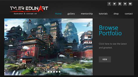 game design kickass tips for a kickass concept art portfolio website