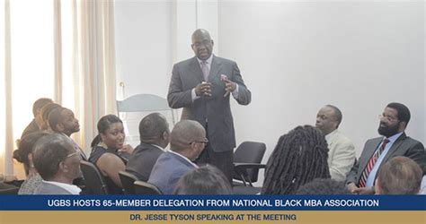 National Black Mba Promo Code by Ugbs Hosts 65 Member Delegation From National Black Mba