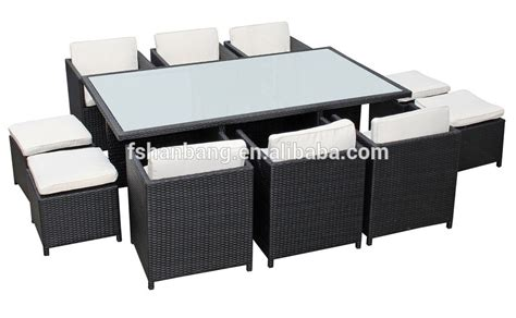 resin table and chairs outdoor garden patio 9 resin wicker dining cube
