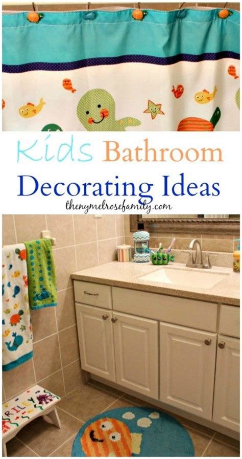 Kids Bathroom Decorating Ideas by Kids Bathroom Decorating Ideas The Melrose Family