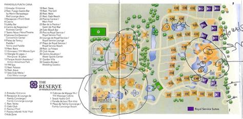 Here's a map of the property.   Picture of Paradisus Punta
