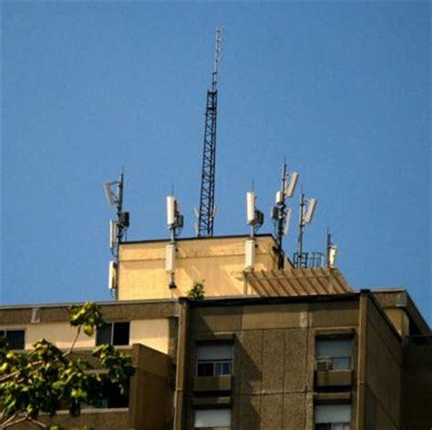 cherryhill circle rooftop cellular antenna installation