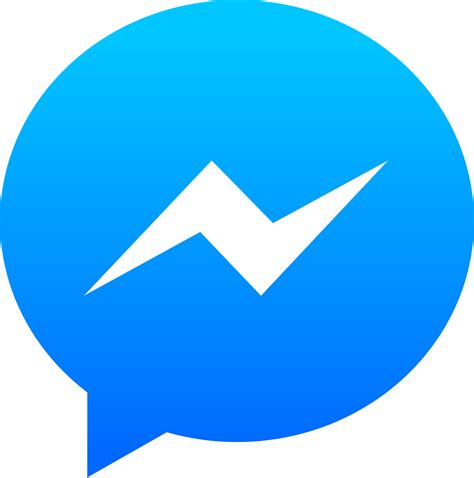 logo transparent messenger logo transparent png stickpng