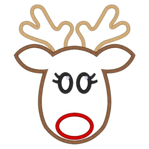 best photos of reindeer face template rudolph reindeer