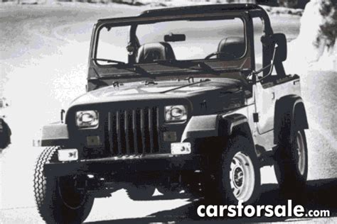 Jeep Tj Years Jeep Wrangler Through The Years Carsforsale