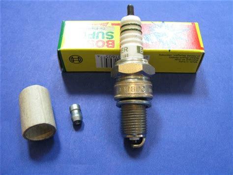 non resistor type spark spark for mercedes bosch w8dc non resistor type
