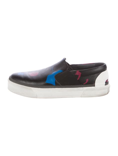 Platform Leather Sneakers lanvin platform leather sneakers shoes lan63619 the
