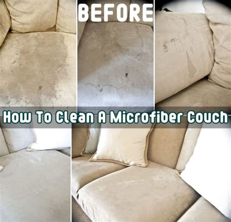 how clean sofa easy way to clean a microfiber couch diy find fun art