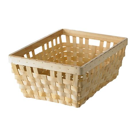 ikea baskets knarra basket natural 15x11 189 x6 188 quot ikea