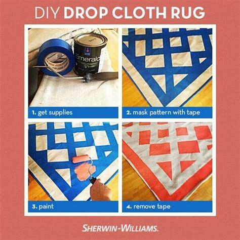 diy drop cloth rug diy rug painted canvas drop cloth diy for the home canvas drop clo