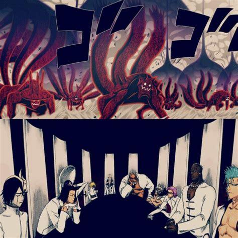 Kaos Anime Tailed Beast tailed beast vs espada anime amino