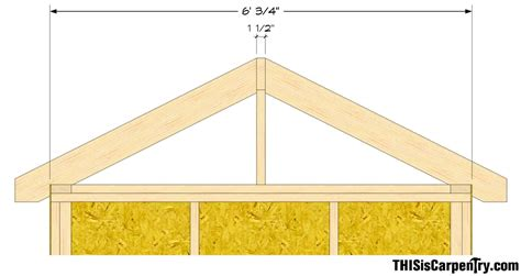 How To Cut A Roof Rafter Mycoffeepot Org