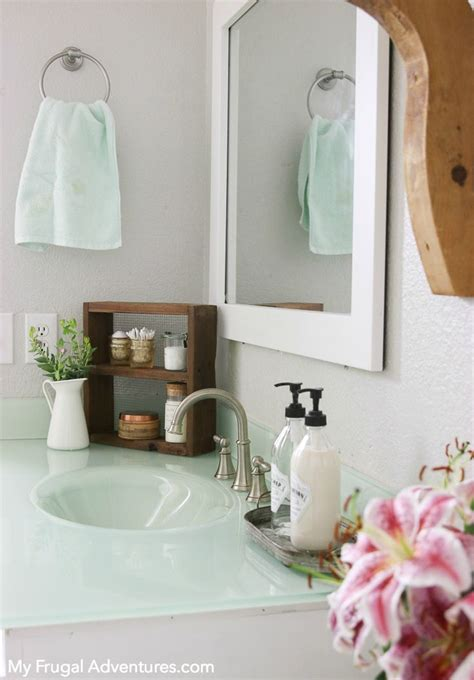 how to add a frame to your bathroom mirror how to add a frame to your bathroom mirror builder grade