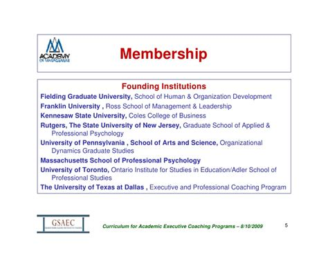 Franklin Mba Curriculum by Aom Presentation 2009