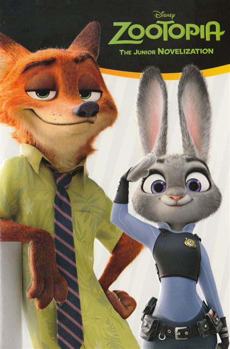 Zootopia Novel books 169 zootopia