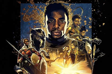 film epici comici black panther imax poster is epic comic book cool