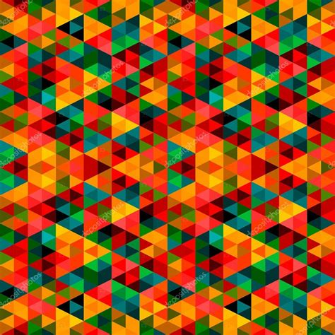 pixel pattern jpg abstract pixel triangle pattern stock vector