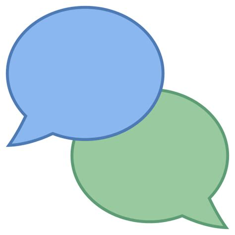 free web chat chat icon free at icons8