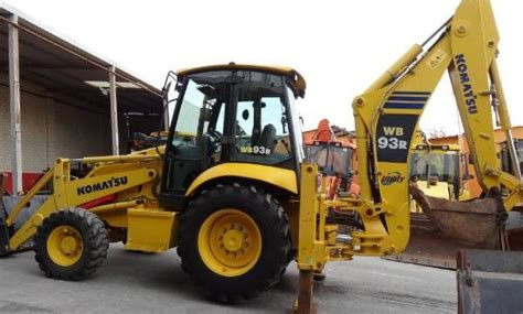 komatsu wb93r 5 backhoe loader service repair workshop