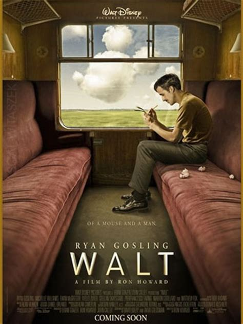 quiz film walt disney ryan gosling as walt disney fake movie poster by french