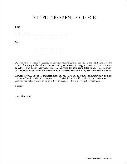 Reference Letter Basic best photos of basic letter of recommendation template