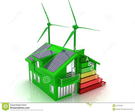 renewable energy house design house energy saving concept royalty free stock image image 23722326