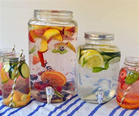Fruits Detox by Spa Fruit Infused Detox Water Modern Honey