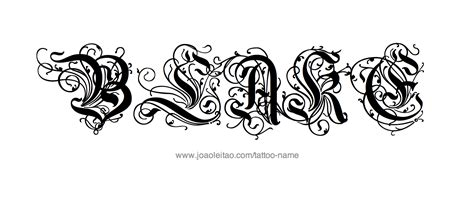 blake tattoo name designs